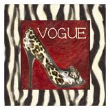 Vogue Shoe Prints by Taylor Greene