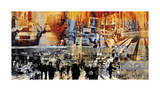 NY Move On Giclee Print by Sven Pfrommer