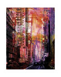New York Color XXX Giclee Print by Sven Pfrommer