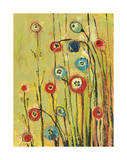 Hidden Poppies Giclee Print by Jennifer Lommers