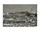Montmartre Giclee Print by Sabri Irmak