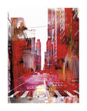 New York Color XVII Giclee Print by Sven Pfrommer