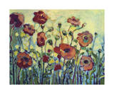 Anita's Poppies Giclee Print by Jennifer Lommers