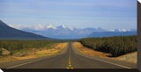 Highway to Alaska Stretched Canvas Print by Richard Desmarais