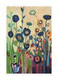 Meet Me In My Garden Dreams Pt. 1 Giclee Print by Jennifer Lommers