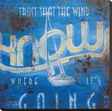 Wind Knows Leinwand von Rodney White