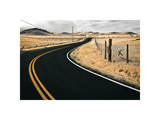 Rural Curve Giclee Print by David Winston