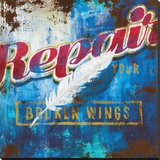 Broken Wings Leinwand von Rodney White
