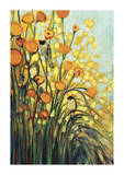 In the Meadow Giclée-tryk af Jennifer Lommers