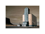 Grain Elevator Giclee Print by David Winston