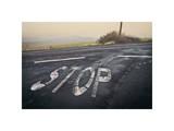 Stop Landscape Giclee Print by David Winston