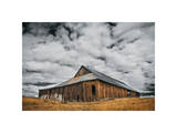 Siskiyou County Barn Giclee Print by David Winston