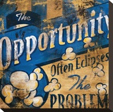 Opportunity Stretched Canvas Print by Rodney White
