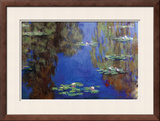 Monet - Water Lilies Posters by Claude Monet