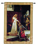 The Accolade Wall Tapestry by Edmund Blair Leighton