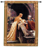 God Speed Wall Tapestry by Edmund Blair Leighton
