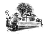 """40-love."" - New Yorker Cartoon Premium Giclee Print by Jr., Whitney Darrow"