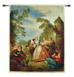 Blind Man'S Bluff Wall Tapestry