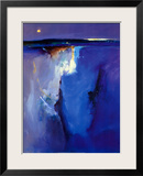 Violet Horizon Print by Peter Wileman