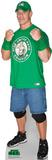John Cena Green Shirt - WWE Lifesize Standup Cardboard Cutouts