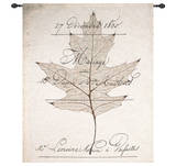Birch Document Wall Tapestry