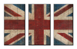 Union Jack Mounted Print by Avery Tillmon
