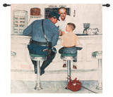 Run Away Wall Tapestry by Norman Rockwell