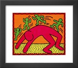 Untitled, October 7, 1982 Print by Keith Haring