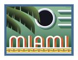 Miami Giclée-tryk af Steve Forney