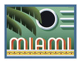 Miami Giclee Print by Steve Forney