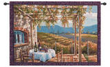 Vineyard Terrace Wall Tapestry