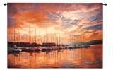 Marina Sunrise II Wall Tapestry