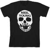 Neil Young - Twisted Road Skull Tshirts