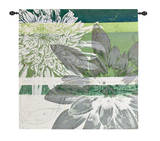 Graphic Blooms II Wall Tapestry