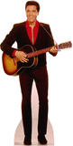 Elvis with Guitar Music Lifesize Standup Poster Stand Up