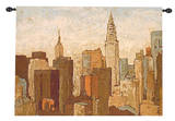 City and Sky II Wall Tapestry