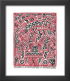 Fun Gallery Exhibition, 1983 Posters by Keith Haring