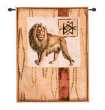 Impressions of Africa III Wall Tapestry
