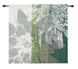 Graphic Blooms I Wall Tapestry