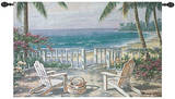 Coastal View Wall Tapestry
