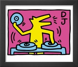 Pop Shop (DJ) Poster by Keith Haring