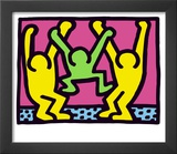 Pop Shop (Family) Prints by Keith Haring
