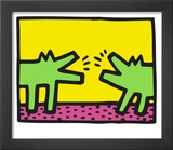 Pop Shop (Dogs) Art by Keith Haring