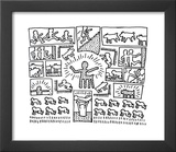 The Blueprint Drawings, 1990 Prints by Keith Haring