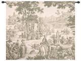 Riverside Marketplace Wall Tapestry