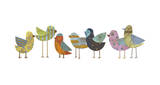 Flock No. 1 Reproduction proc&#233;d&#233; gicl&#233;e par John Golden