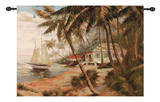 Key West Hideaway Wall Tapestry