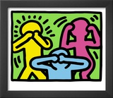 Pop Shop (See No Evil, Hear No Evil, Speak No Evil) Posters by Keith Haring