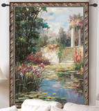 The Water Garden Wall Tapestry