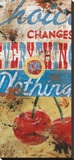 Everything Or Nothing Reproduction transf&#233;r&#233;e sur toile par Rodney White